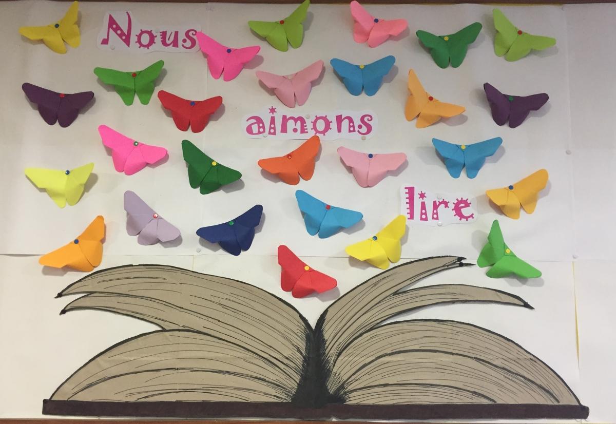 Nous aimons lire...